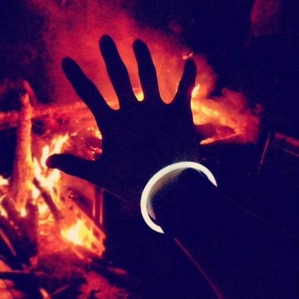 タイコクラブこだまの森焚き火