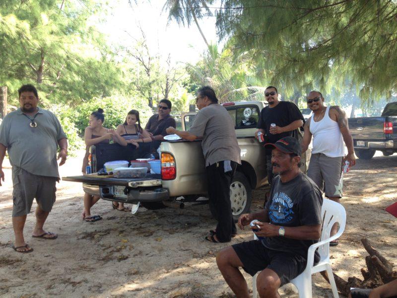 グアムの現地民
