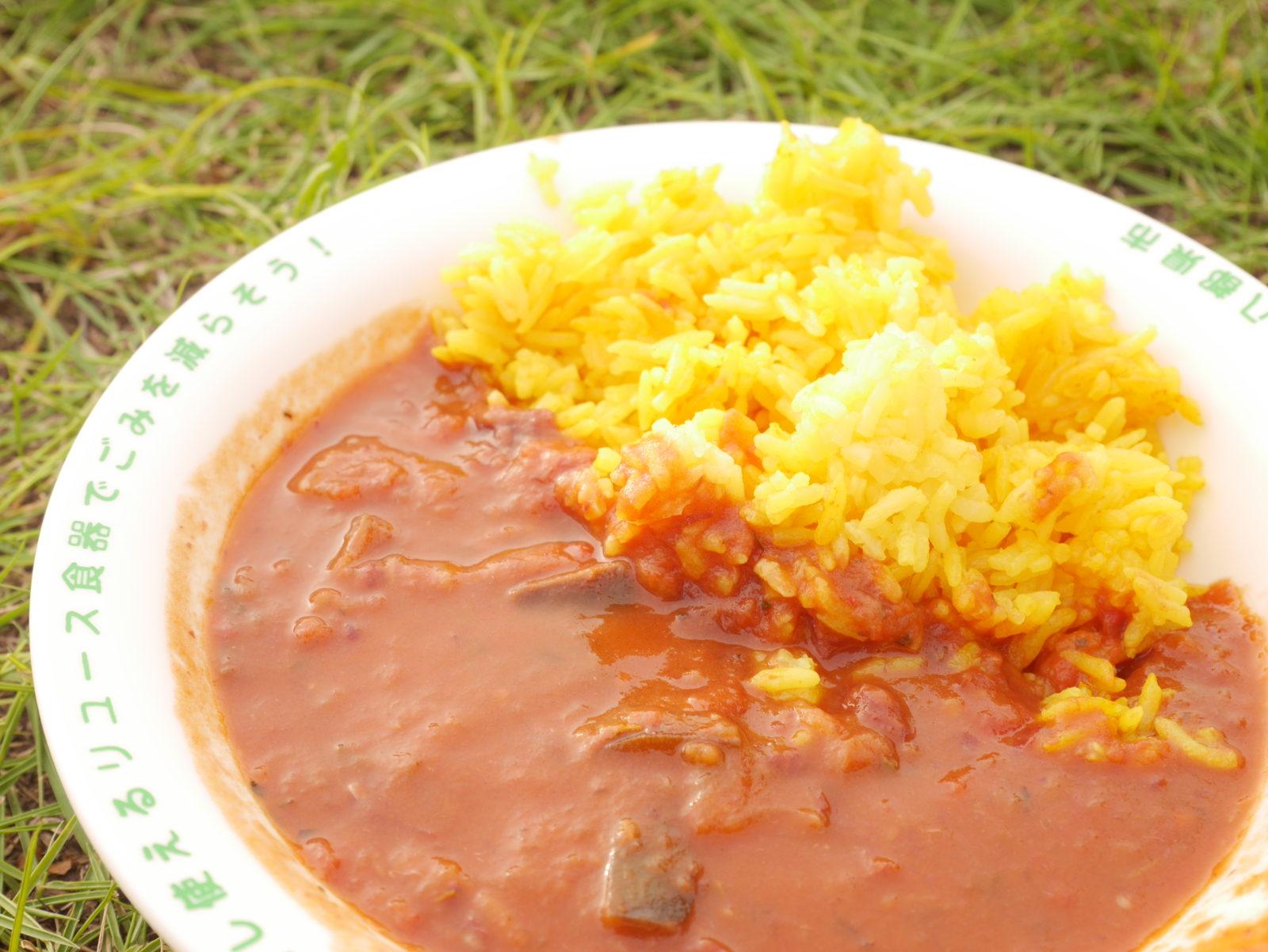 ワンラブ久米島フェスの食事