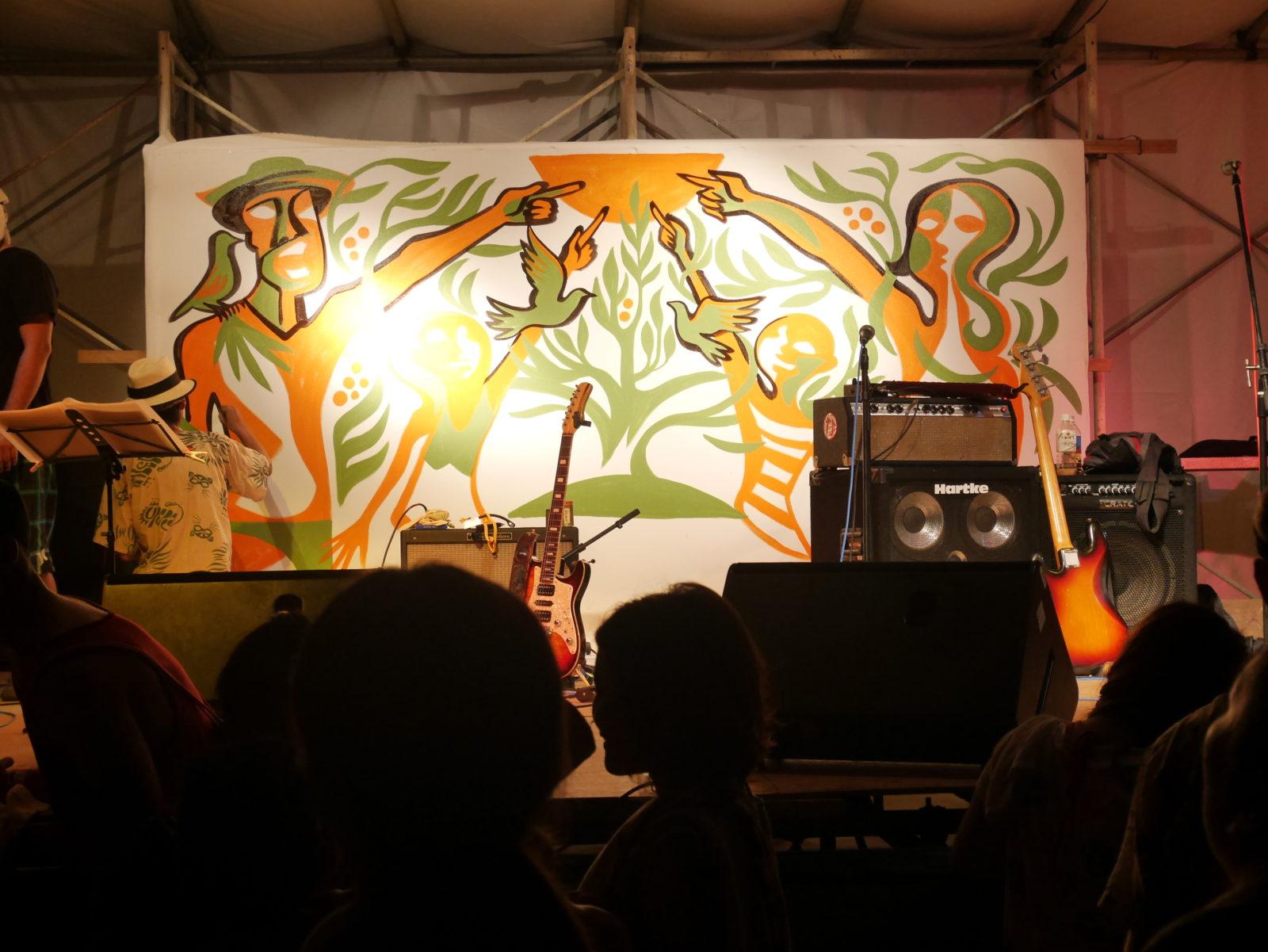 ワンラブ久米島フェスの一場面