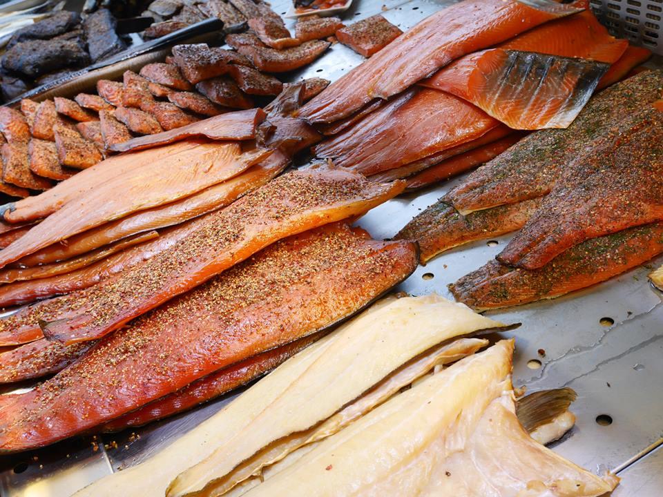 ノルウェーの海産物