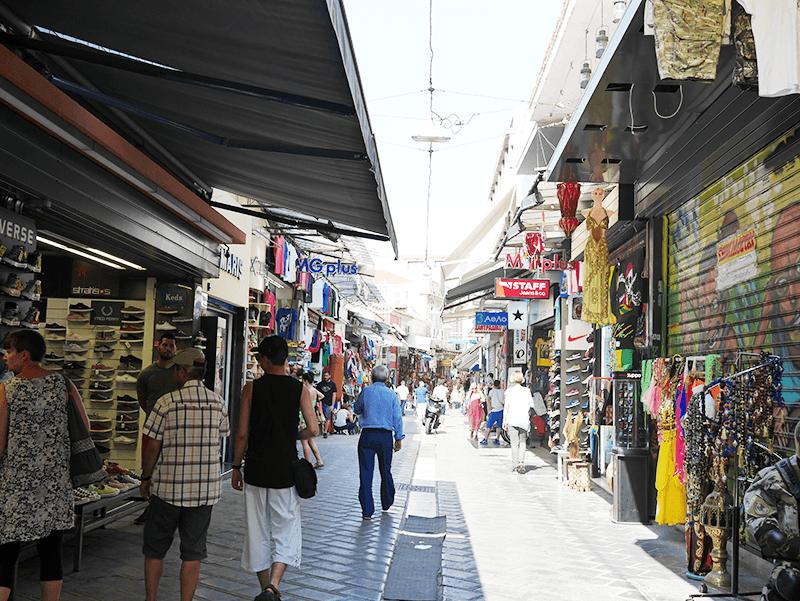 アテネの町