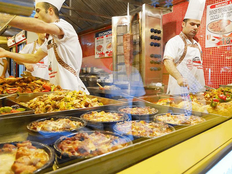 トルコの大衆食堂ロカンタ